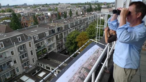 Robbert Ritmeester op 'Tetterode', Jordaan, Amsterdam
